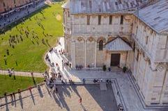 Campo de los milagros desde arriba - Pisa Fotografía de archivo libre de regalías