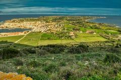 Campo de los sueños ~ Favignana, Sicilia imagen de archivo libre de regalías