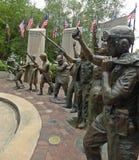 Campo de los veteranos del honor conmemorativos Foto de archivo libre de regalías