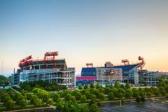 Campo de LP em Nashville, TN na manhã Imagem de Stock Royalty Free