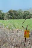 Campo de minas silencioso Fotos de Stock Royalty Free