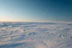 Campo de nieve ruso Fotografía de archivo