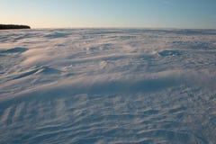 Campo de nieve ruso Imagen de archivo