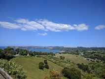 Campo de Nueva Zelanda Fotografía de archivo libre de regalías