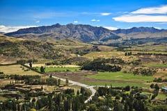 Campo de Nueva Zelandia Fotos de archivo