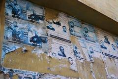Campo de refugiados palestino em Westbank, Palestina, Israel imagens de stock