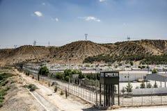 Campo de refugiados para povos sírios em Turquia 6 de setembro de 2017 Nizip, Turquia Imagem de Stock Royalty Free