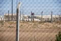 Campo de refugiados para povos sírios em Turquia 7 de setembro de 2017 Suruc, Turquia Imagens de Stock