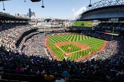 Campo de Safeco foto de stock royalty free