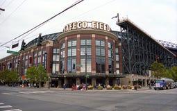 Campo de Safeco - navegadores de Seattle imagem de stock royalty free