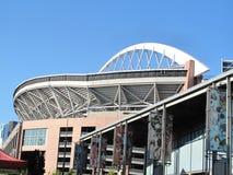 Campo de Seattle Seahawks Qwest Foto de archivo