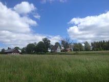 Campo de Suecia meridional Foto de archivo