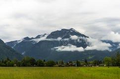 Campo de Suiza Imagen de archivo libre de regalías