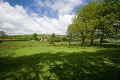 Campo de Surrey en Wotton imágenes de archivo libres de regalías
