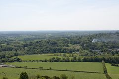 Campo de Surrey perto de Dorking inglaterra Imagens de Stock Royalty Free