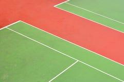 Campo de ténis Fotografia de Stock