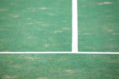 Campo de ténis Imagem de Stock Royalty Free