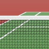 Campo de tênis Foto de Stock Royalty Free