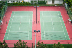 Campo de tênis Imagem de Stock