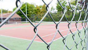 Campo de tênis Imagens de Stock