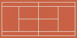 Campo de tenis imágenes de archivo libres de regalías
