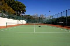 Campo de tenis Imagen de archivo libre de regalías