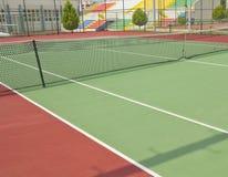 Campo de tenis Fotografía de archivo libre de regalías