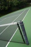 Campo de tenis al aire libre Imágenes de archivo libres de regalías