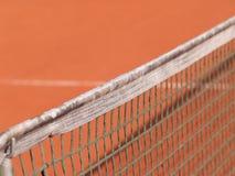 Campo de tenis con la línea y la red (88) Imagen de archivo libre de regalías