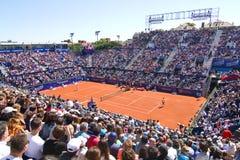 Campo de tenis de Barcelona Imágenes de archivo libres de regalías