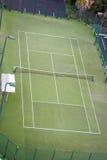 Campo de tenis vacío foto de archivo libre de regalías