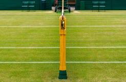 Campo de tênis do gramado Fotografia de Stock