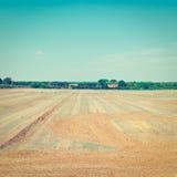 Campo de Toscana imagenes de archivo