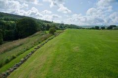 Campo de Vindolanda Imagem de Stock Royalty Free