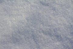 Campo debajo de la nieve en invierno Foto de archivo libre de regalías