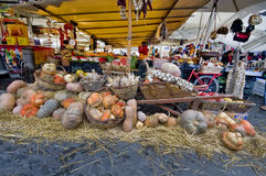 The Campo dei Fiori Atmosphere Stock Images