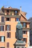 Campo dei Fiori square in Rome Royalty Free Stock Images