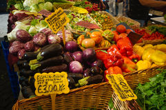 Campo Dei Fiory αγορά - Rome#2 Στοκ εικόνα με δικαίωμα ελεύθερης χρήσης