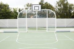 Campo del baloncesto Fotografía de archivo