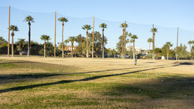 Campo del campo da golf Immagini Stock Libere da Diritti