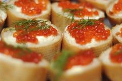 Campo del caviar Imágenes de archivo libres de regalías