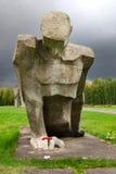 Campo del concetration de Salaspils imagen de archivo