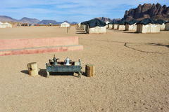 Campo del deserto Fotografia Stock Libera da Diritti