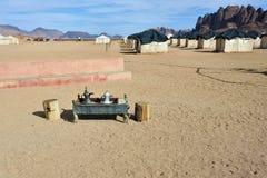 Campo del desierto Fotografía de archivo libre de regalías