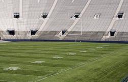 Campo del estadio de Footbal Fotografía de archivo libre de regalías