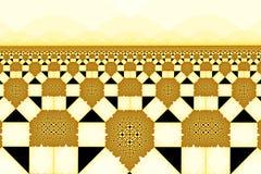 Campo del extracto de los girasoles ilustración del vector