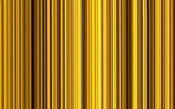 Campo del fondo abstracto de alta tecnología conceptual de la textura de las rayas de vertical del oro foto de archivo libre de regalías