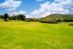 Campo del golf (Suráfrica) foto de archivo