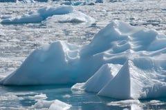 Campo del iceberg Fotografía de archivo libre de regalías