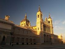 Campo del Moro à Madrid Photo libre de droits
